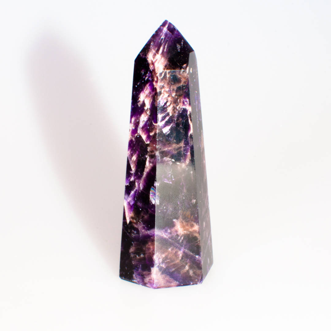 Dark Amethyst Polished Point