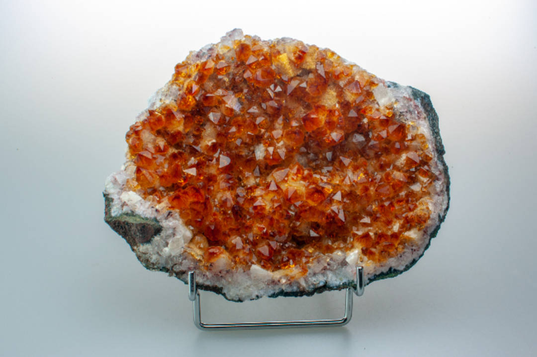 Rough Citrine Druze