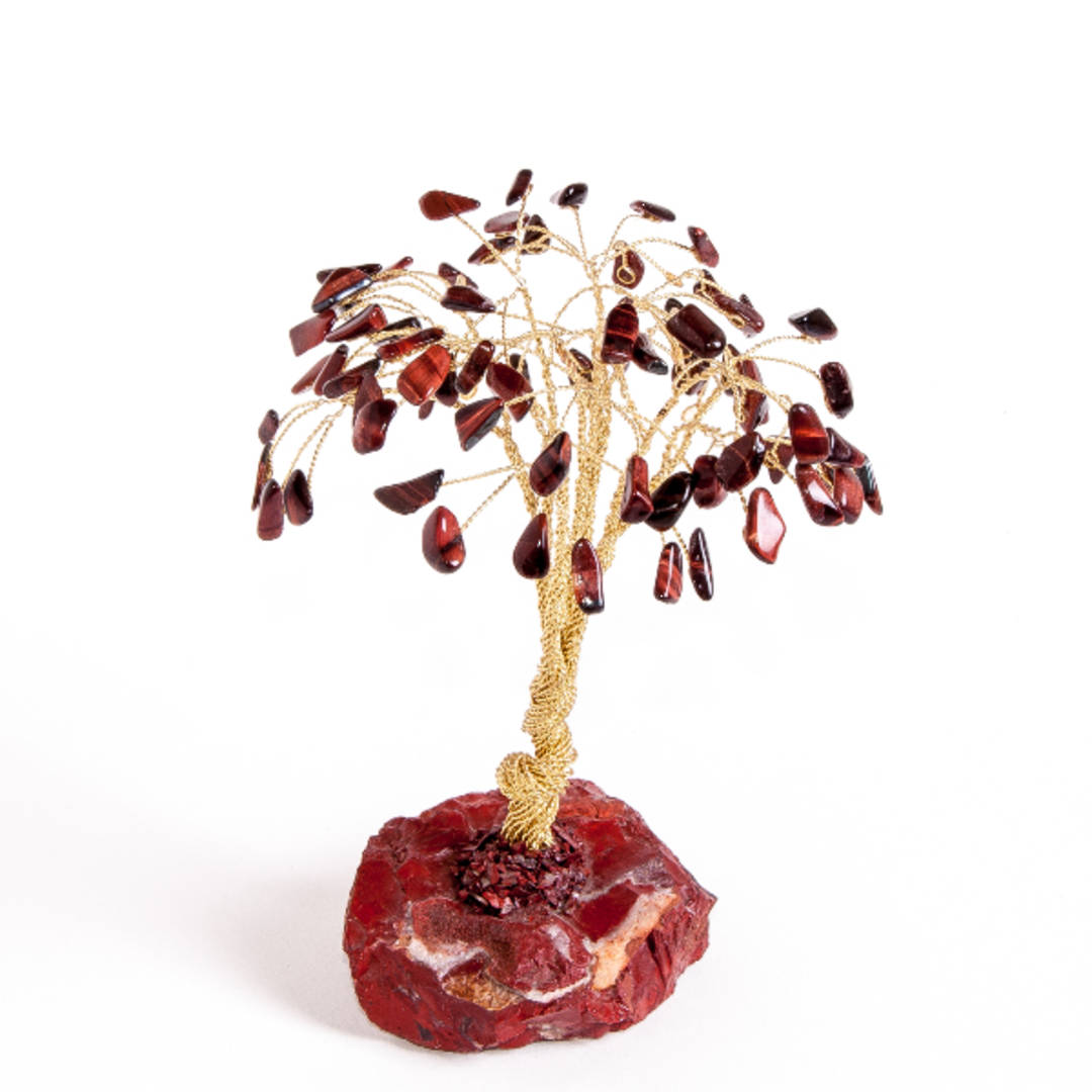 Red Tigers Eye Tree