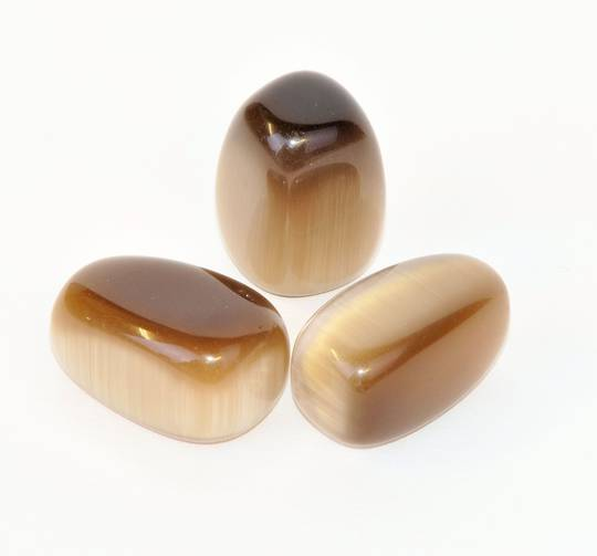 Cats Eye- Brown Tumbled