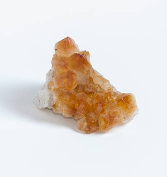 Unpolished Citrine Druze